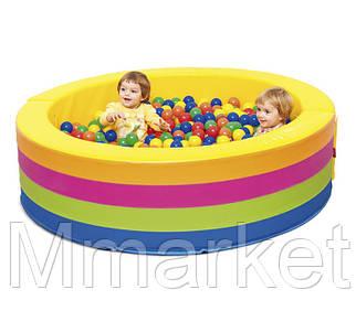 Сухой бассейн 1,5 м с мягким полом