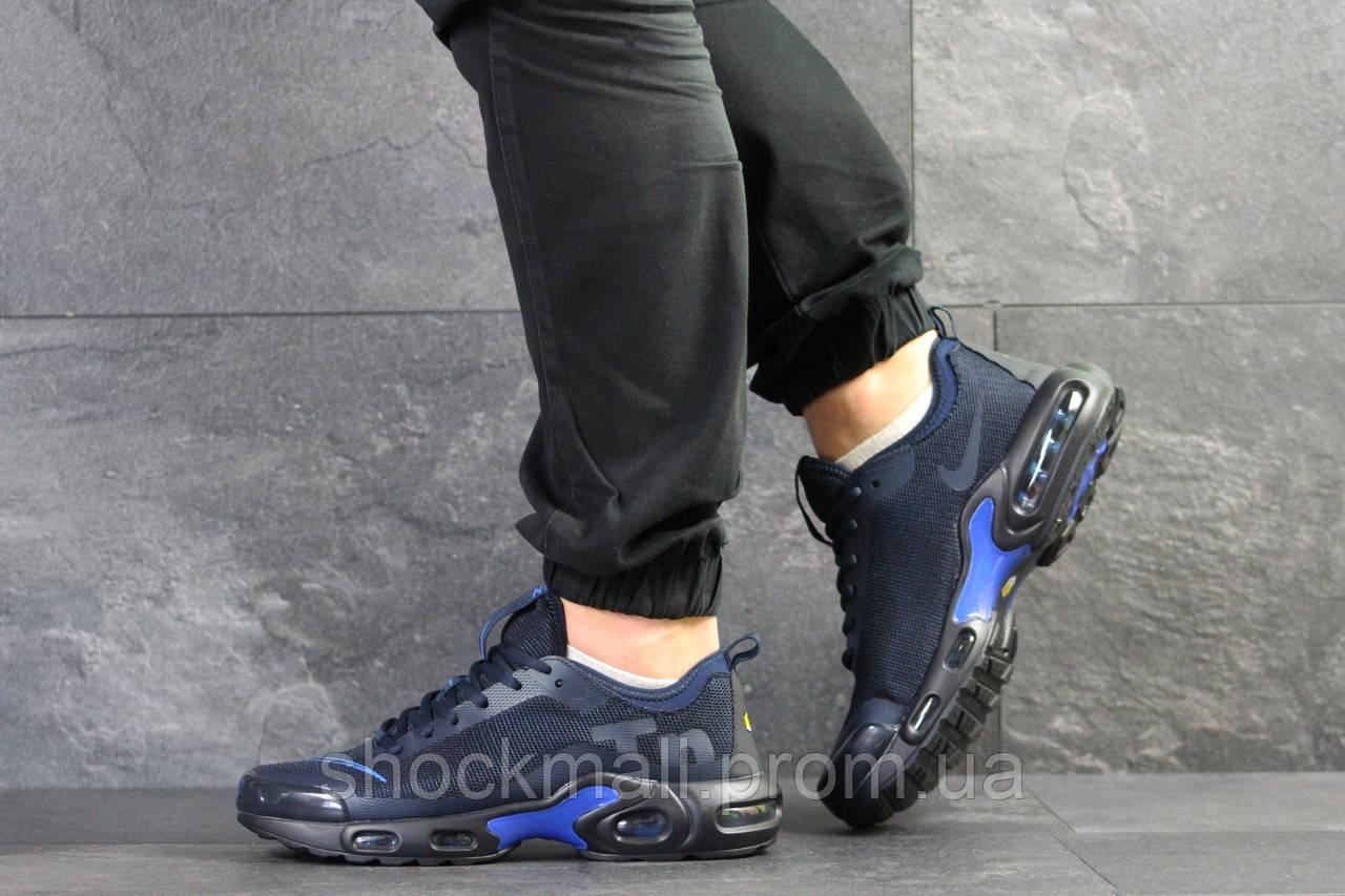 b974daa0 Купить Кроссовки мужские Nike Air Max Tn синие сетка Вьетнам реплика ...