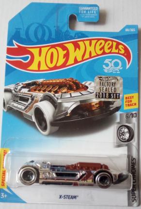 Машинка Hot Wheels 2018 X-Steam