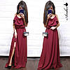 Платье летнее на бретелях Фея в пол из софта, фото 4