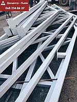 Изготовление складов ангаров металлоконструкцый из метала., фото 1