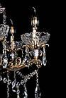 Классическая люстра-свеча на 12 лампочек СветМира VL-7114/8+4 (золотая), фото 5