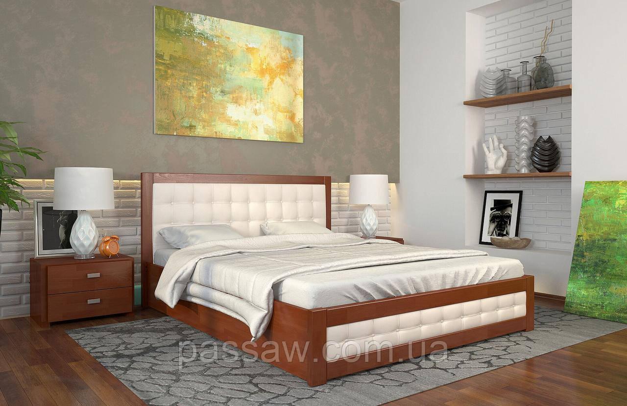 """Кровать деревянная ARBOR DREV """"Рената Д"""" с подъемным механизмом 1,8 бук"""