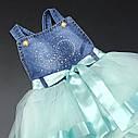 Пышное платье-сарафан 2-3-4-5 лет, фото 3