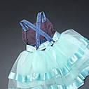 Пышное платье-сарафан 2-3-4-5 лет, фото 4