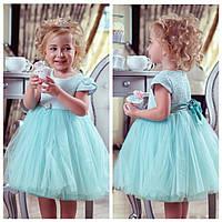 Миленькое мятное платье zironka