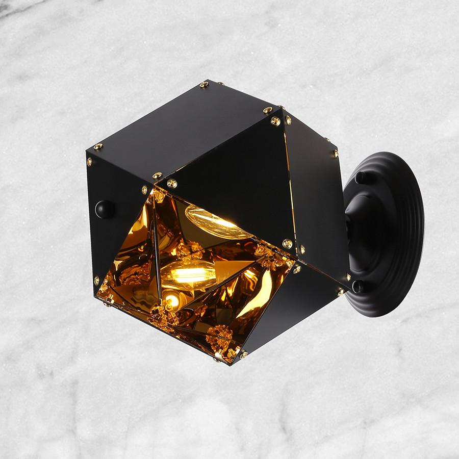 Бра металлическая (56-PR5510-1 BK)