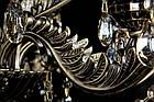 Классическая люстра-свеча на 8 лампочек СветМира VL-7119/8 (античная бронза), фото 3