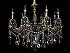 Классическая люстра-свеча на 8 лампочек СветМира VL-7119/8 (античная бронза), фото 2