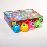Мяч 6,5см BT-JB-0043 попрыгунчик свет.глаз 6шт./144/(BT-JB-0043)
