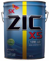 Моторное масло ZIC X5 DIESEL 10W-40 20л