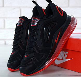 Мужские кроссовки Nike Air Max 720 Black Red