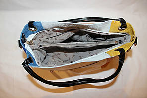 Женская кожаная сумочка Velina Fabbiano 52012, фото 2