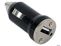 USB авто адаптер 1 USB / 1A(гвоздик)  *1090