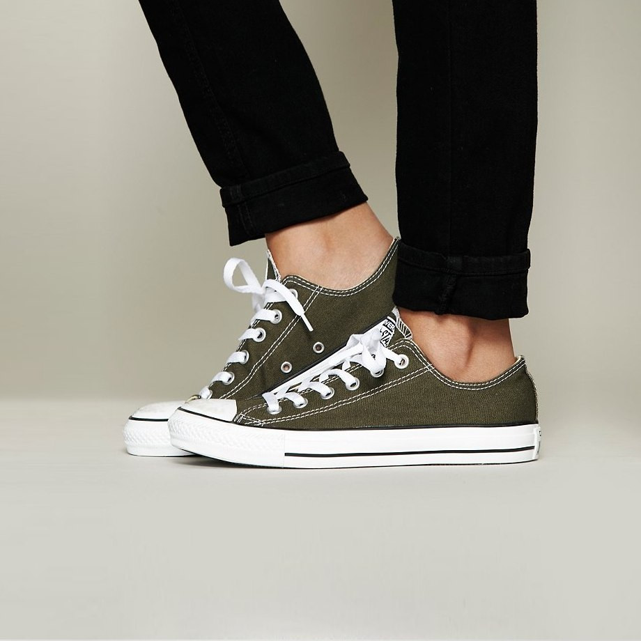 Кеди Converse - Classic Chuck Taylor All Star Low / Brown White