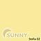Рулонные шторы для окон в закрытой системе Sunny с плоскими направляющими - ПЛАСТИК, ткань Stella, фото 6