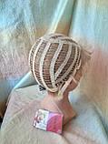 Короткий парик из термоволокна пшеничный 2763t-24В, фото 8