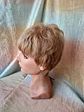 Короткий парик из термоволокна пшеничный 2763t-24В, фото 6