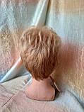 Короткий парик из термоволокна пшеничный 2763t-24В, фото 3