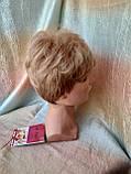 Короткий парик из термоволокна пшеничный 2763t-24В, фото 2