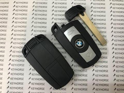 Смарт ключ BMW (БМВ) 3 кнопки, keyless go (CAS3, CAS3+), 868 MHz, ID 46