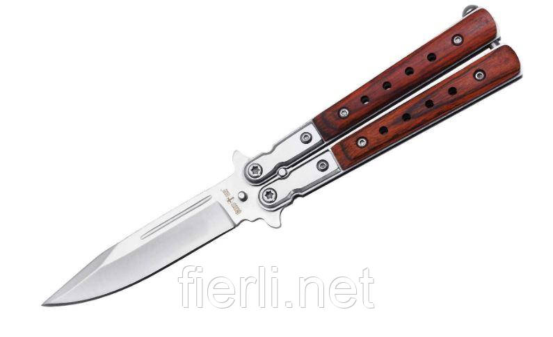 Нож складной (бабочка) 134-40 нож Балисонг