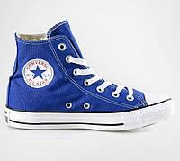 Кеди Converse - Classic Chuck Taylor All Star Hi / Royal Blue White