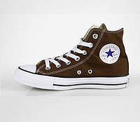 Кеди Converse - Classic Chuck Taylor All Star Hi / Brown White, фото 1