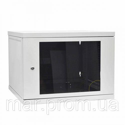 Шкаф коммутационный настенный 9U 600x450