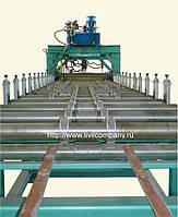 Линия для производства металлочерепицы и профнастила