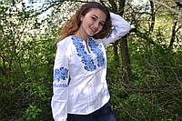 "Белая вышиванка""Троянди"" 44, 46, 52, 54 р-ры, 450/390 (цена за 1 шт. + 60 гр.)"