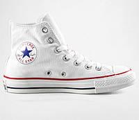 Кеди Converse - Classic Chuck Taylor All Star Hi / True White, фото 1