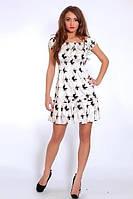 Изящное платье из атласа для девушек