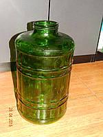 Бутыль стеклянный зеленый 15 л  твист III-100
