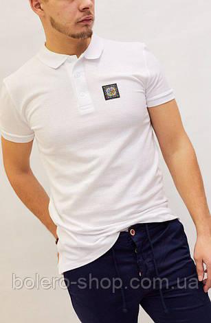 Мужская футболка поло Givenchy белая, фото 2