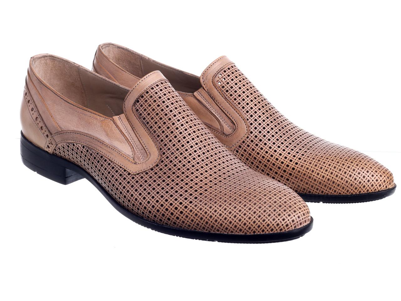 Туфлі Etor 15704-990 бежевий