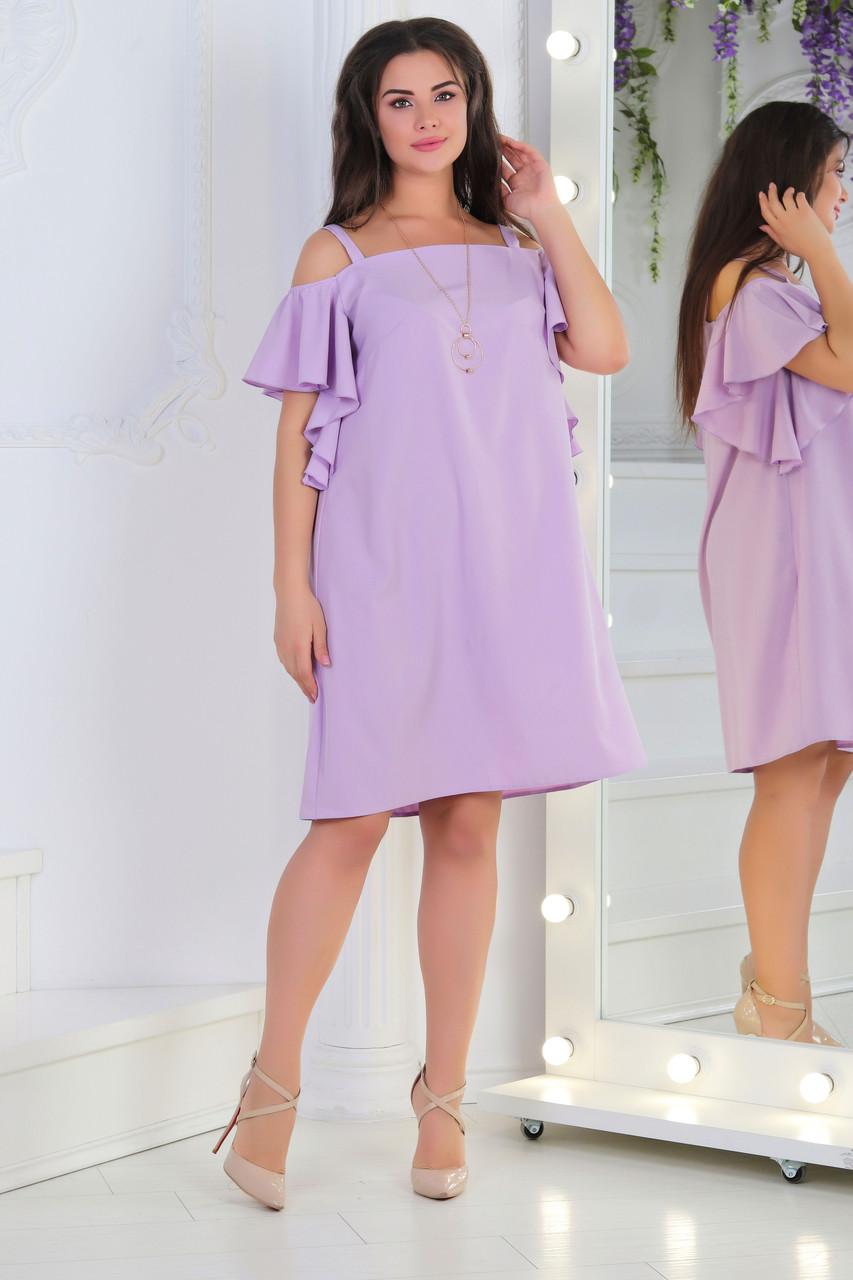 Платье-сарафан, №121, лиловый