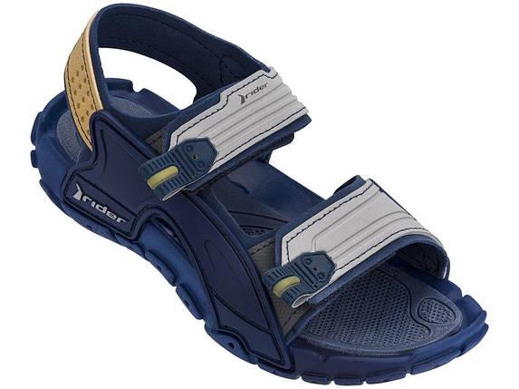 Оригинал Детские Сандалии Для Мальчика 82575-21393 Rider Tender X Kids sandal blue/grey Синие 2019, фото 2