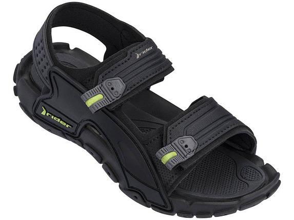 Оригинал Детские Сандалии Для Мальчика 82575-20766 Rider Tender X Kids sandal Black/Black Черные, фото 2