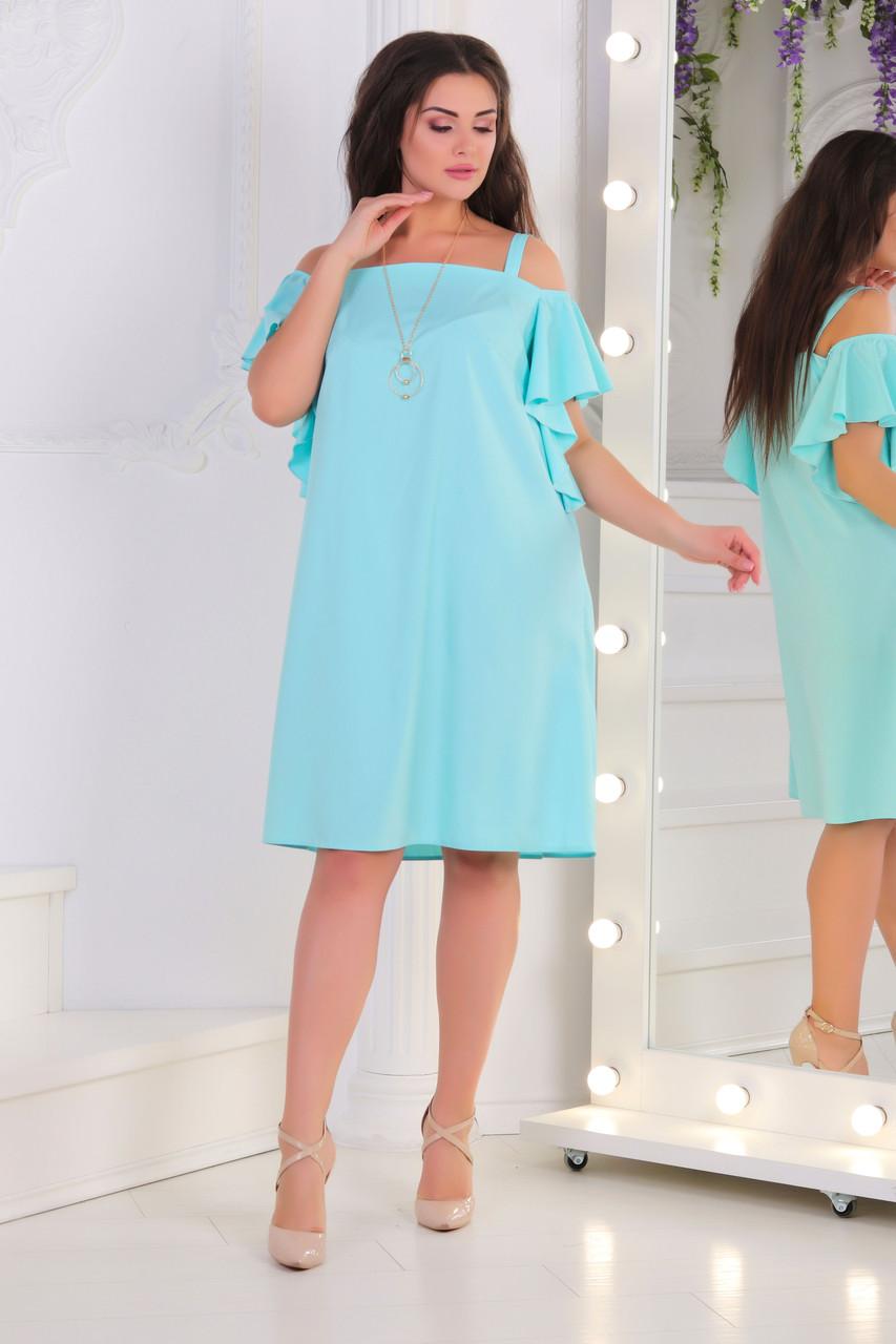 f7d2c03d9d2687f Платье-сарафан, №121, мята - Beluza - производитель женской одежды в Одессе