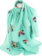 Женская шаль Trаum бирюзовый