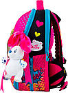 Рюкзак школьный каркасный с наполнением DeLune 7mini-022, фото 4