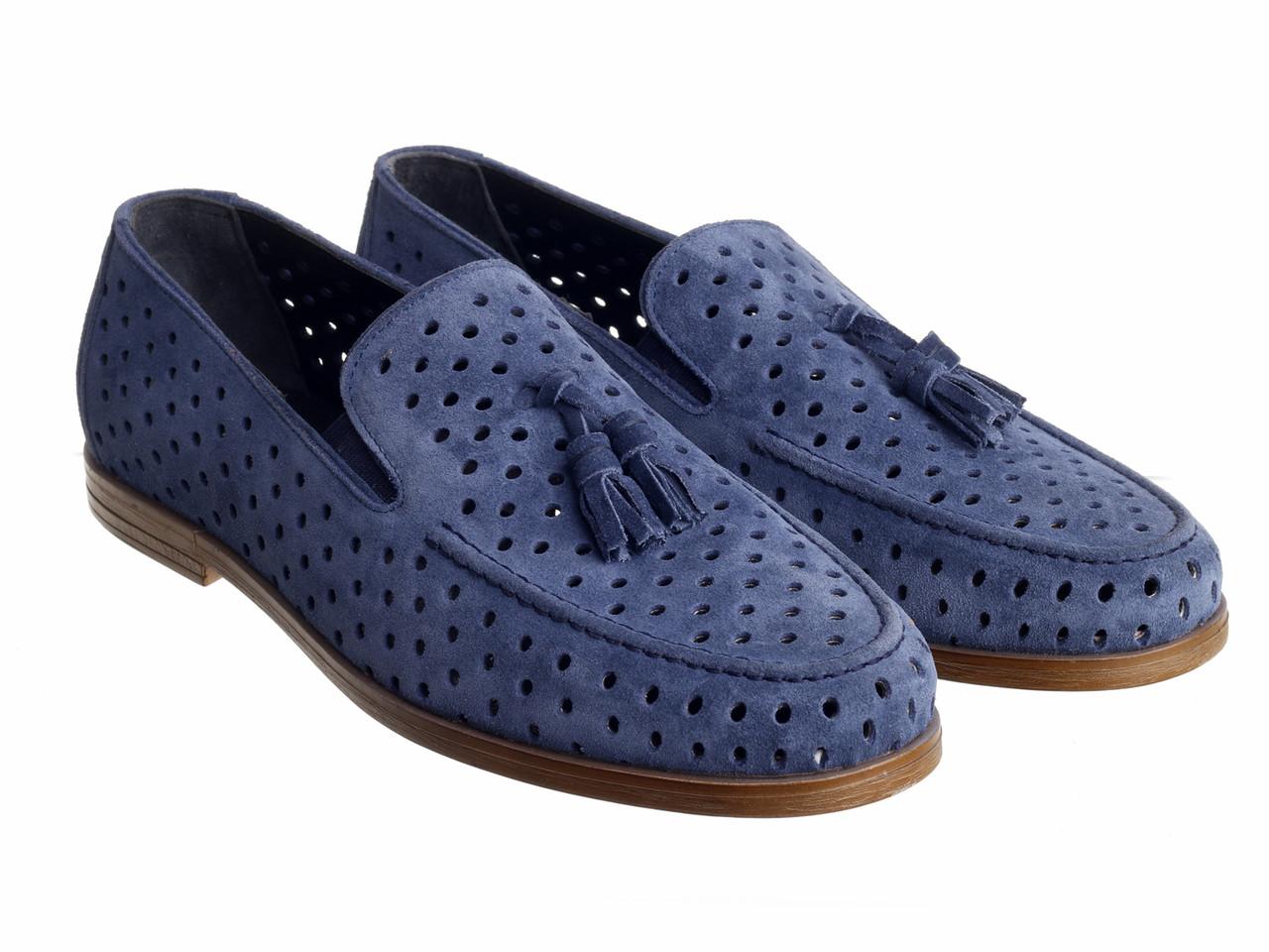 Туфли  Etor 15098-6589 синие