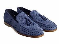 Туфли  Etor 15098-6589 синие, фото 1