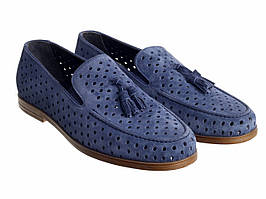 Туфлі Etor 15098-6589 сині