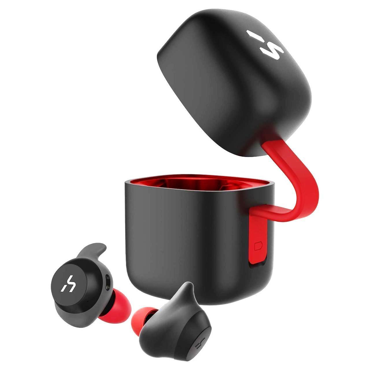 Наушники беспроводные Havit G1, black/red