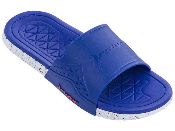 Оригинал Шлепанцы мужские 82496-24369 Rider Infinity II Slide man slipper blue/white Синие 2019, фото 2