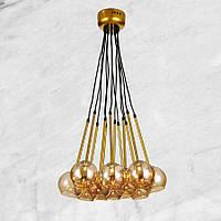 Люстра в современном исполнении (56-PR5522-12) Золотой