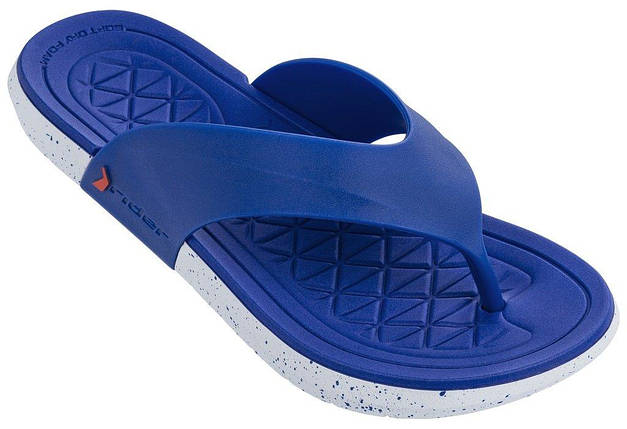Оригинал Шлепанцы мужские 82495-24369 Rider Infinity II Thong man slipper blue/white Cиние 2019, фото 2