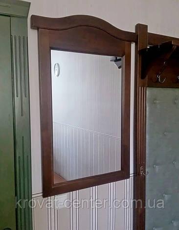 """Настенное зеркало в деревянной раме от производителя """"Микель"""" (орех), фото 2"""